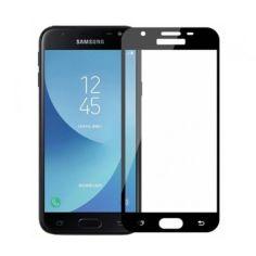 Акция на Защитное стекло 2.5D Full Screen Tempered Glass для Samsung Galaxy J3 2018 Black от Allo UA