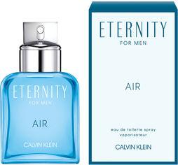 Акция на Туалетная вода для мужчин Calvin Klein Eternity Air For Man 50 мл (3614224824884) от Rozetka