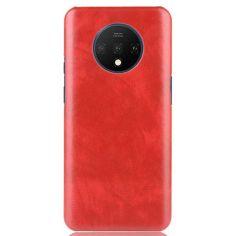 Акция на Кожаный чехол накладка для OnePlus 7T Red от Allo UA