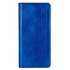 Акция на Кожаный чехол-книжка Gelius Book Cover Leather NEW для Samsung Galaxy S20 FE Blue от Allo UA