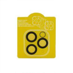 Акция на Защитное стекло Tempered Glass 0,3 мм 2.5D на заднюю камеру для Apple iPhone 11, Black от Allo UA