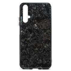 Акция на Чехол Marble Glass Case для Huawei Honor 20 / nova 5T Black от Allo UA