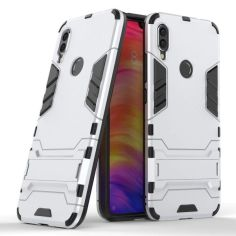Акция на Чехол накладка Ricco Iron Man для Samsung Galaxy A10s Silver от Allo UA
