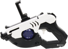 Акция на Бластер виртуальной реальности ProLogix Ar-Glock Gun Android, iOS Black/White (NB-007AR) от Rozetka