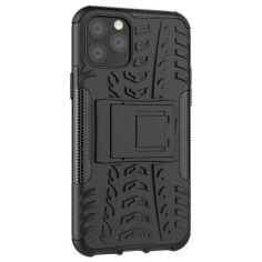 Акция на Бронированный чехол Armored Case для Apple iPhone 11 Pro Max Black от Allo UA