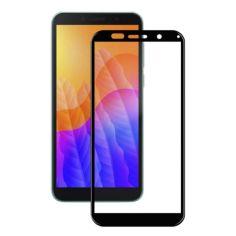 Акция на Защитное стекло Full Screen Tempered Glass 2.5D для Huawei Y5p, Black от Allo UA