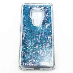 Акция на Силиконовый чехол накладка Epik Bling Sand Case для Huawei Mate 20 Blue от Allo UA