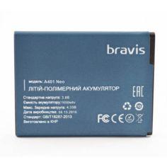 Акция на Аккумулятор для Bravis NEO A401 (Original) 1650мAh от Allo UA