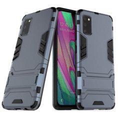 Акция на Чехол-накладка Iron Man для Samsung Galaxy A41 Dark blue от Allo UA