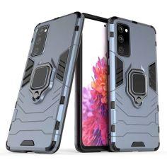 Акция на Чехол накладка Ricco Black Panther Armor для Samsung Galaxy S20 FE Dark blue от Allo UA