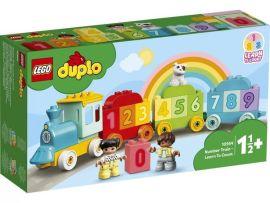 Акция на Конструктор LEGO DUPLO Поезд с цифрами - учимся считать 10954 от MOYO
