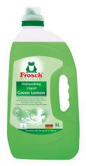 Акция на Средство для мытья посуды Frosch Зеленый лимон 5 л (4001499115585/4009175956156) от Rozetka
