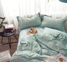 Акция на Комплект постельного белья Novita 146 Сатин 210х220 (ROZ6400063337) от Rozetka