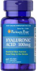 Акция на Puritan's Pride Hyaluronic Acid 100 mg 60 caps от Stylus