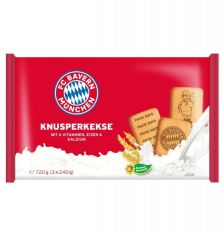 Акция на Печенье Fc Bayern Munchen wheat biscuits (3х240 г), 720 г (WT3907) от Stylus