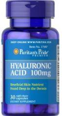 Акция на Puritan's Pride Hyaluronic Acid 100 mg 30 caps от Stylus