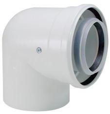Акция на Коаксиальный отвод на 90° Bosch AZB 910, диаметр 60/100 мм от MOYO