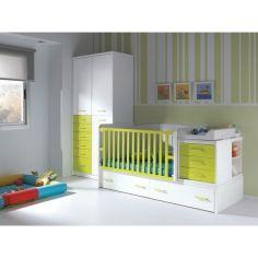 Акция на Детская комбо кровать для новорожденных ДМ 518 174 * 74 * 107 от Allo UA