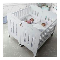 Акция на Кроватка для двоих новорожденных (для близнецов) КД 152 от Allo UA