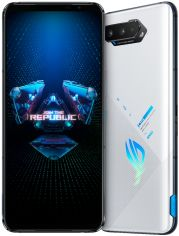 Акция на Мобильный телефон Asus ROG Phone 5 16/256GB White (ZS673KS-1B015EU) от Rozetka