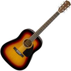 Акция на Гитара акустическая Fender CD-60 V3 WN Sunburst (228748) от Rozetka