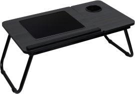 Акция на Столик для ноутбука DYXON Transformix 1 Black Wood (DXN-snb-tmx1bwd) от Rozetka