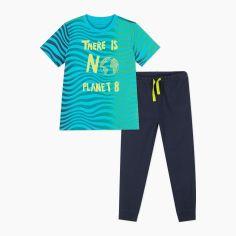 Акция на Пижама (футболка + штаны) Coccodrillo Pyjamas WC1448211PJS-000 140 см (5904705536299) от Rozetka