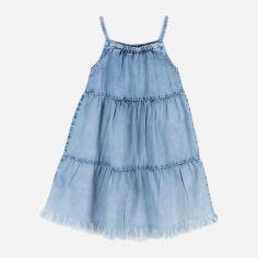 Акция на Сарафан джинсовый Coccodrillo Happy Summer WC1128301HAS-022 104 см Голубой (5904705518493) от Rozetka