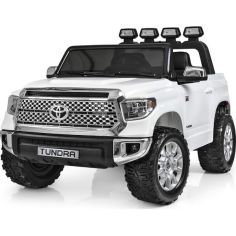 Акция на Электромобиль Bambi Toyota Tundra JJ2266AEBLR-1 White (JJ2266AEBLR) от Allo UA