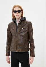 Акция на Куртка кожаная Deercraft от Lamoda