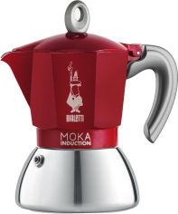 Акция на Гейзерная кофеварка Bialetti New Moka Induction 180 мл (0006944) от Rozetka