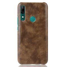 Акция на Кожаный чехол накладка Epik для Huawei P Smart Z, Y9 2019 Prime Brown от Allo UA