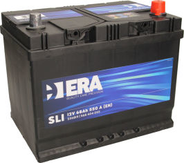 Акция на Автомобильный аккумулятор ERA SLI 68Ah (-/+) Asia (550EN) (ERA S56819) от Rozetka