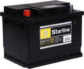 Акция на Автомобильный аккумулятор StarLine 56Ah (+/-) Euro (480EN) (S BA SL 55L) от Rozetka