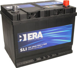 Акция на Автомобильный аккумулятор ERA SLI 68Ah (+/-) Asia (550EN) (ERA S56808) от Rozetka