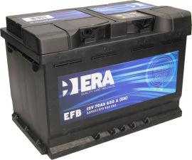Акция на Автомобильный аккумулятор ERA EFB 70Ah (-/+) Euro (700EN) (ERA E57013) от Rozetka