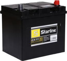 Акция на Автомобильный аккумулятор StarLine 60Ah (-/+) Asia (510EN) (S BA SL 60JP) от Rozetka