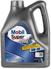 Акция на Моторное масло Mobil 1 Super 2000 X1 5W-30 4 л (155317) от Rozetka