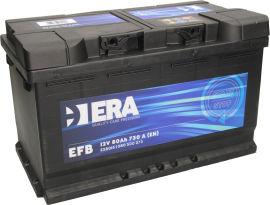Акция на Автомобильный аккумулятор ERA EFB 80Ah (-/+) Euro (730EN) (ERA E58015) от Rozetka