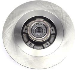 Акция на Диск тормозной задний Solgy Renault Scenic III 2.0dCi 09- (290х11) (+ABS) (с подшипником) (208037) от Rozetka