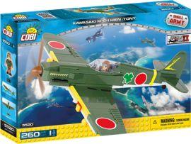 Акция на Конструктор Cobi Вторая Мировая Война Самолет Кавасаки KI-61-II Тони, 260 деталей (COBI-5520) от Y.UA
