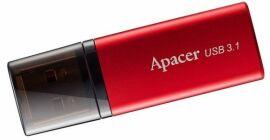 Акция на USB флеш накопичувач Apacer AH25B 128GB USB 3.1 (AP128GAH25BR-1) Red от Територія твоєї техніки