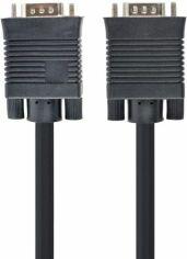 Акция на Кабель Cablexpert Premium VGA HD15M - HD15M 10 м 2 феритових кільця (CC-PPVGA-10M-B) от Територія твоєї техніки