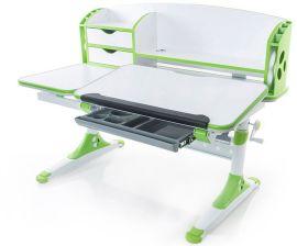 Акция на Стол Evo-kids Aivengo (L) Green (арт.Evo-720 WZ) - столешница белая / ножки белые с зеленым от Stylus