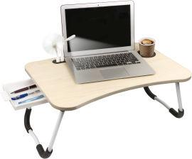 Акция на Столик для ноутбука DYXON Transformix 2 USB LED Fan White Apple (DXN-snb-tmx2wapp) от Rozetka