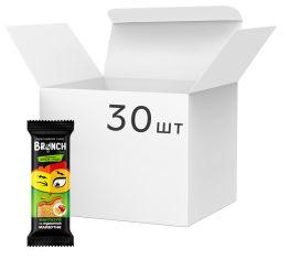 Акция на Упаковка мультизлаковых снеков Brunch сэндвич с натуральным яблоком и грушей 47 г x 30 шт (4823105805679) от Rozetka