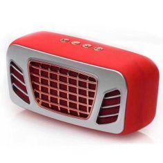 Акция на Портативная bluetooth колонка Mini stereo DV20 Red от Allo UA
