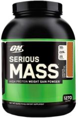 Акция на Optimum Nutrition Serious Mass 2727 g /8 servings/ Banana от Stylus