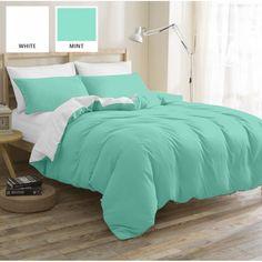 Акция на Комплект постельного белья MirSon Бязь Premium White-Mint 175х210 (2200000949219) от Rozetka