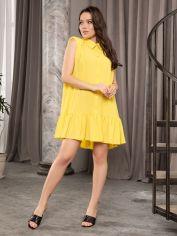 Акция на Платье ISSA PLUS 12722 XL Желтое (issa2002722163078) от Rozetka